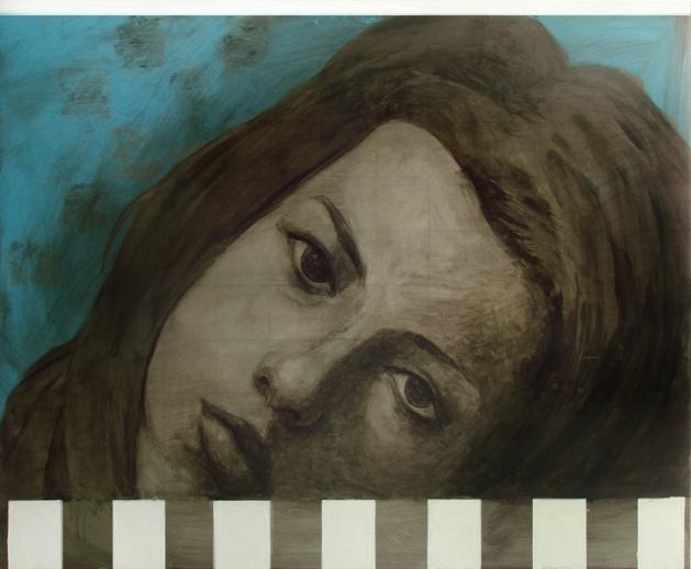 autoportret_albastru