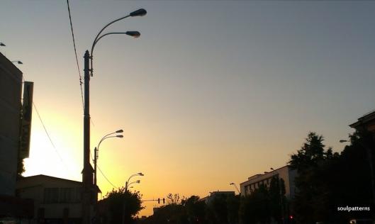City Sunset Light