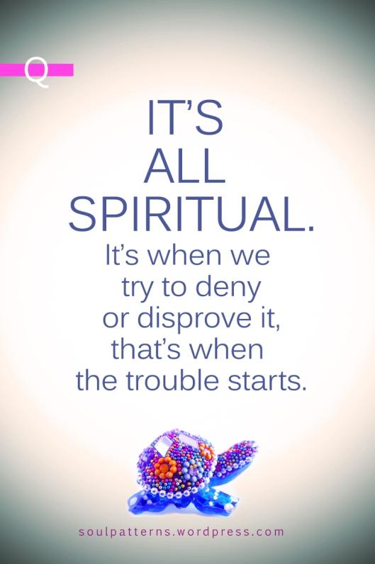 all spiritual